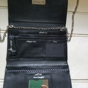White House Black Market Bags - Clutch purse with removable chain strap
